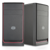 CM Case E300L, Red, 2x USB3.0, Micro-ATX, 1Y